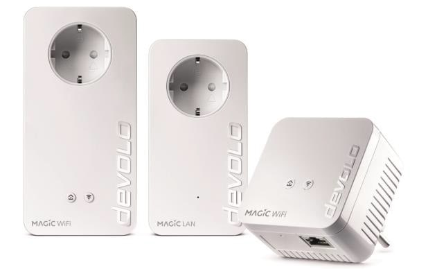 Devolo Magic1200+ WiFi Multiroom Kit Powerline 1200 Mbit/s Wi-Fi 4 (802.11n) für 179,99 Euro