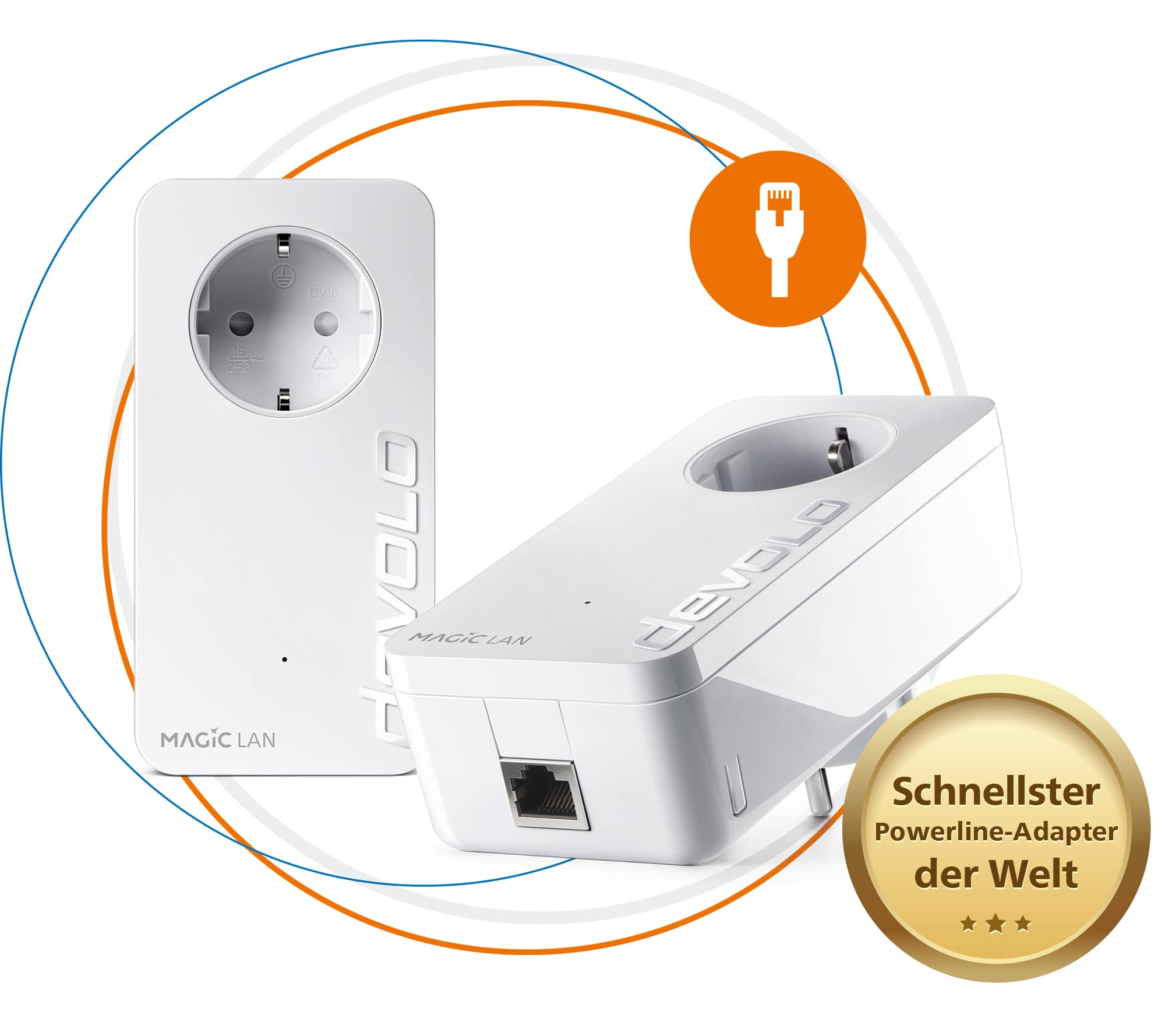 Devolo Magic2 LAN Powerline 2400 Mbit/s für 129,90 Euro
