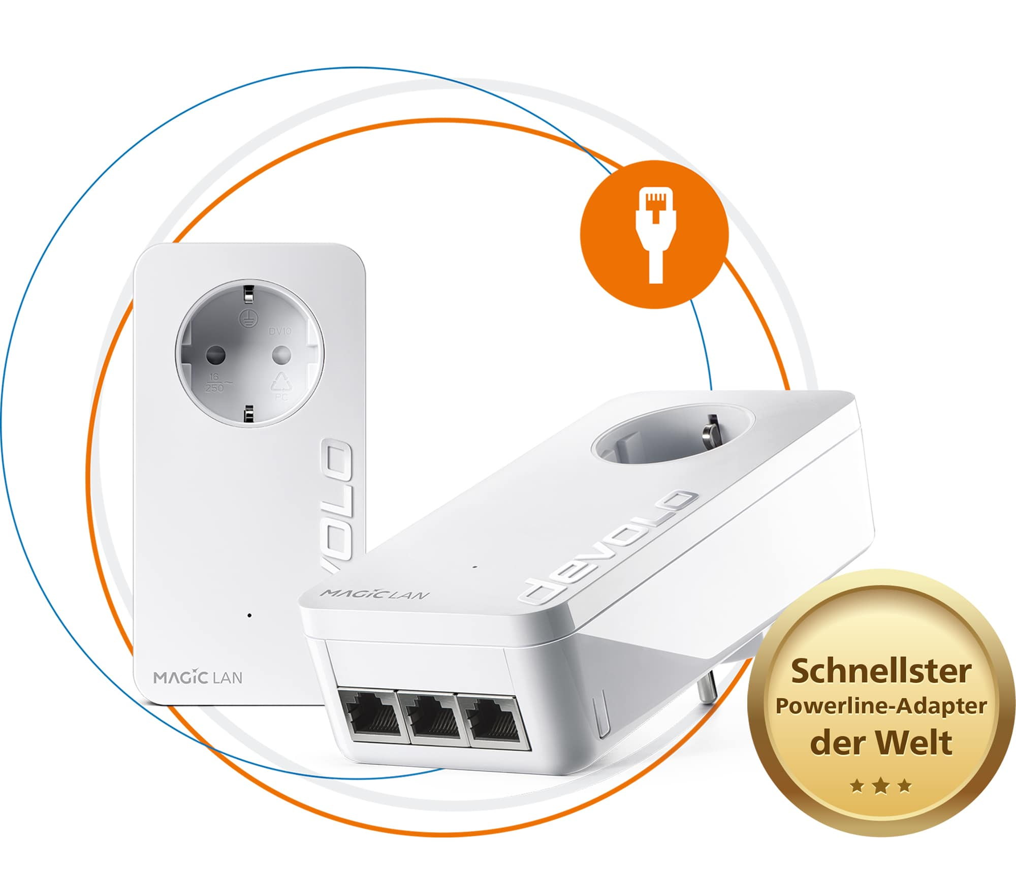 Devolo Magic 2 LAN triple Starter Kit für 136,37 Euro