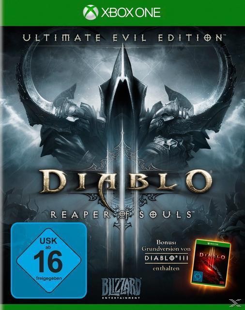Diablo III: Reaper of Souls - Ultimate Evil Edition (Xbox One) für 29,00 Euro