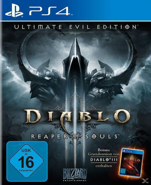 Diablo III: Reaper of Souls - Ultimate Evil Edition (PlayStation 4) für 69,99 Euro