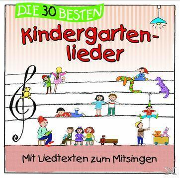 Die 30 besten Kindergartenlieder (Simone Sommerland) für 10,99 Euro