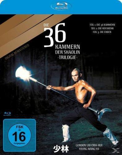 Die 36 Kammern der Shaolin-Trilogie (BLU-RAY) für 12,99 Euro
