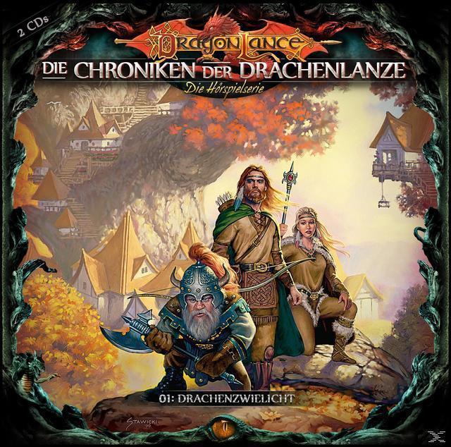 Die Chronik der Drachenlanze 01: Drachenzwielicht (CD(s)) für 16,99 Euro