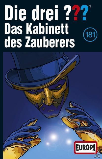Die drei ??? 181: Das Kabinett des Zauberers (MC(s)) für 6,49 Euro