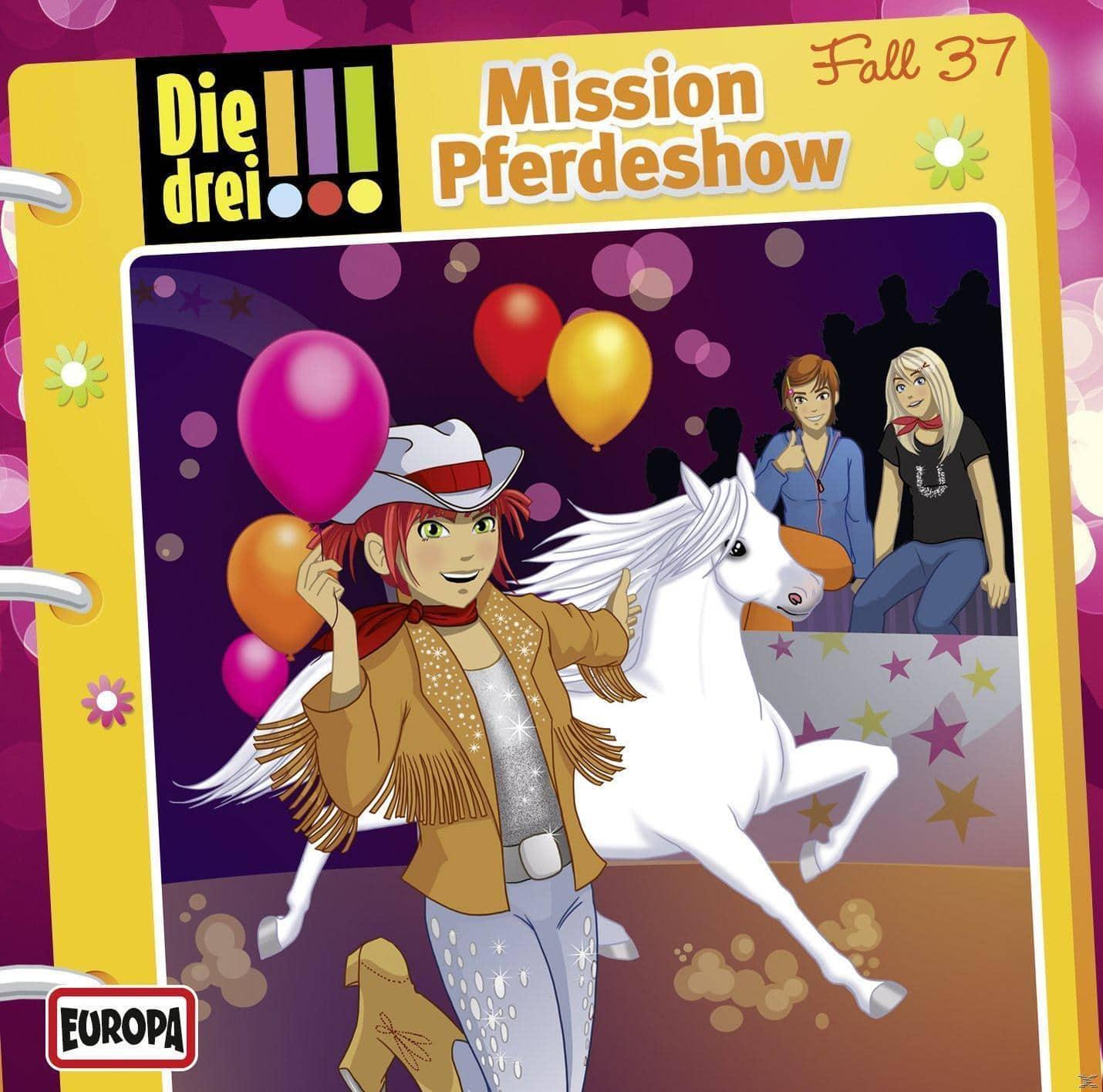 Die drei !!! 37: Mission Pferdeshow (CD(s)) für 7,49 Euro