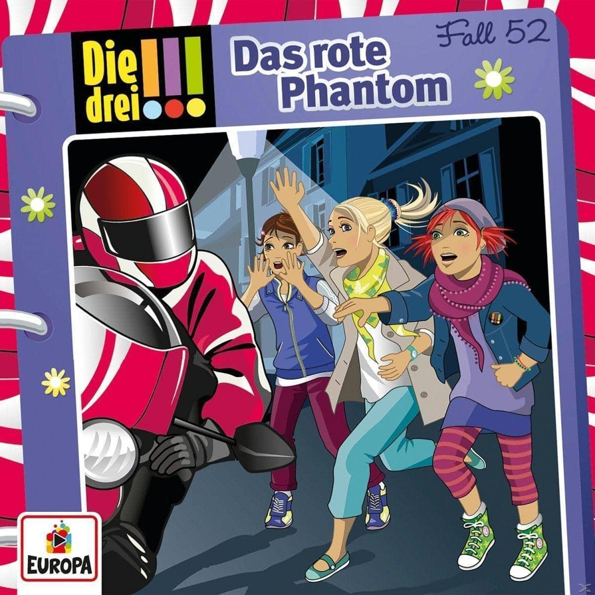 Die drei !!! Das rote Phantom (52) (CD(s)) für 7,49 Euro