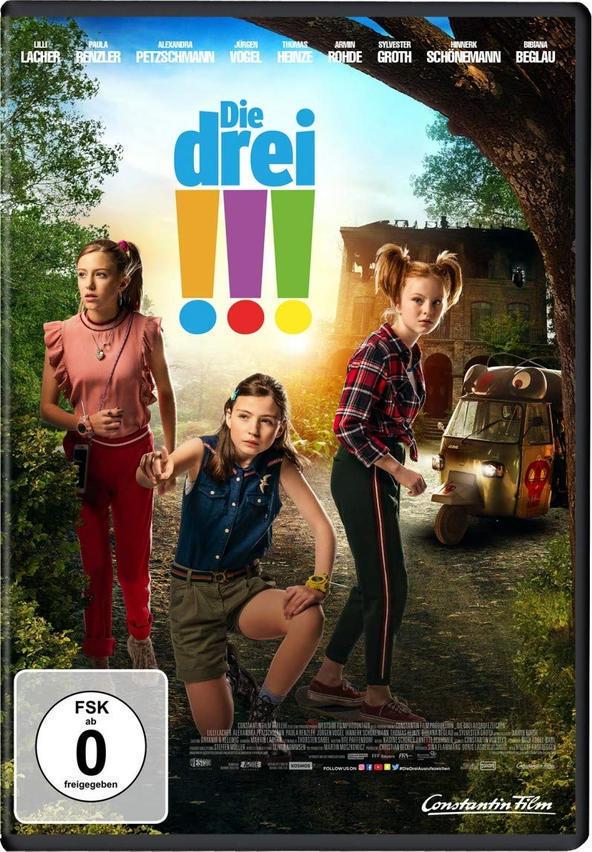 Die Drei !!! (DVD) für 12,99 Euro