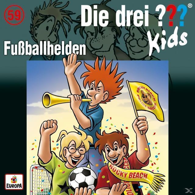 Die drei ??? Kids 59: Fußballhelden (CD(s)) für 7,30 Euro