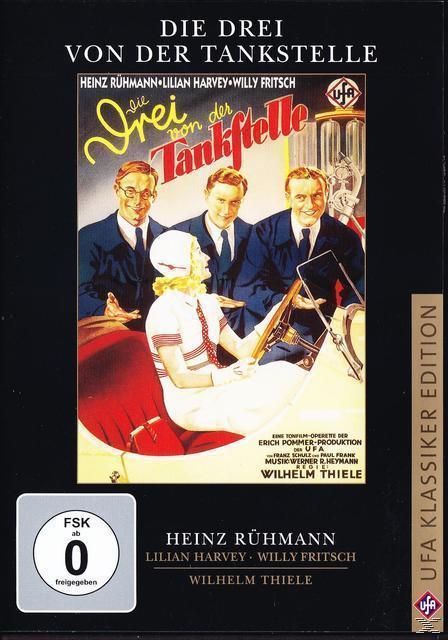 Die Drei von der Tankstelle - UFA Klassiker Edition (DVD) für 9,99 Euro