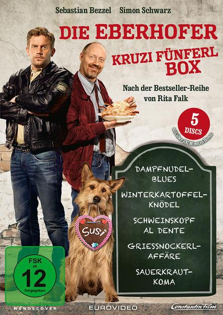 Die Eberhofer - Kruzifünferl Box DVD-Box (DVD) für 22,99 Euro