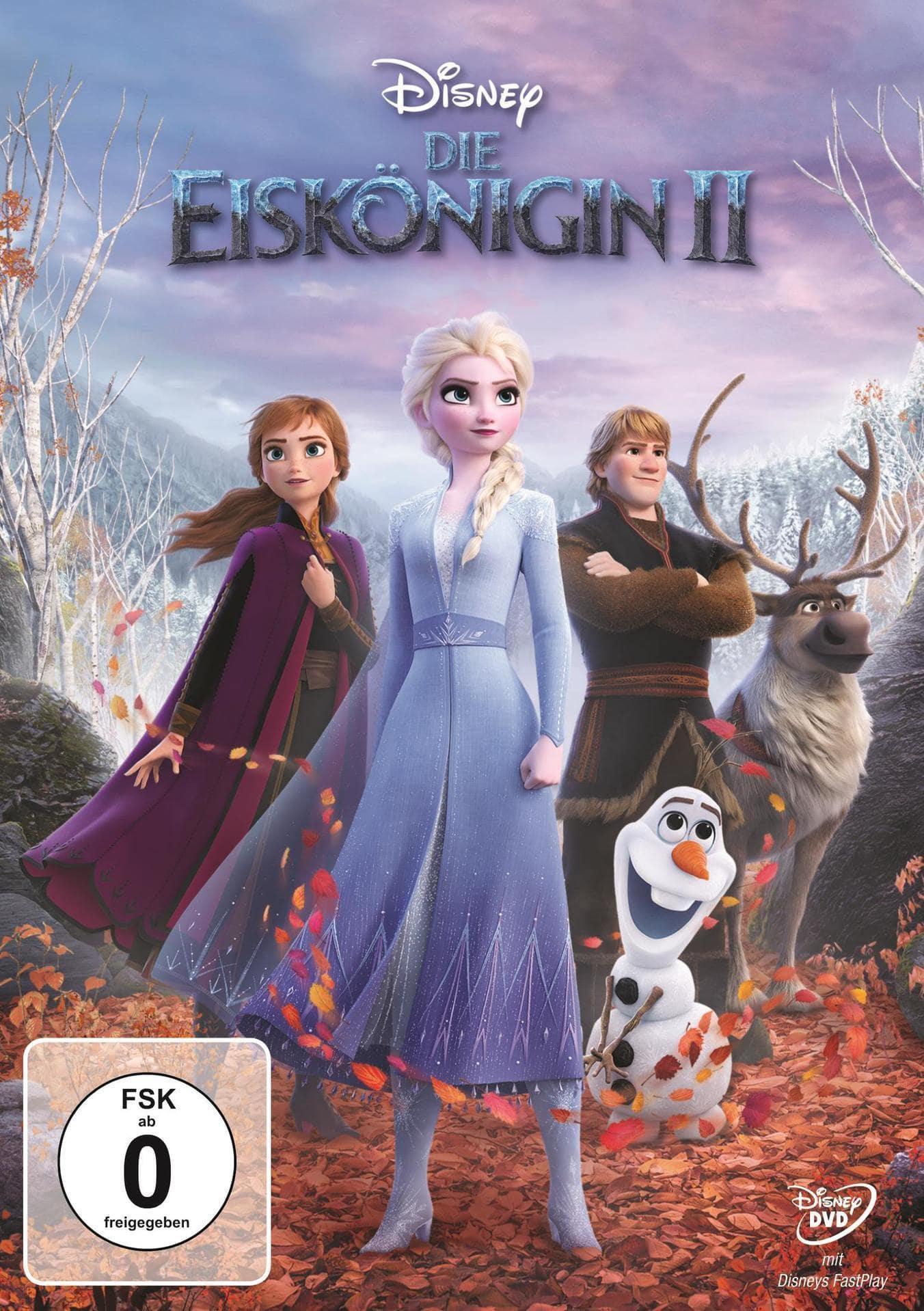 Die Eiskönigin 2 (DVD) für 13,99 Euro