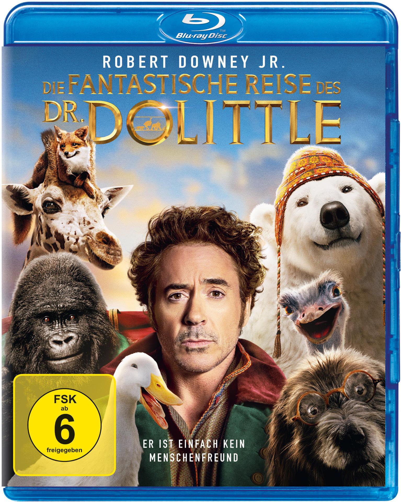 Die fantastische Reise des Dr. Dolittle (BLU-RAY) für 14,61 Euro