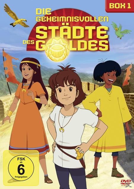Die geheimnisvollen Städte des Goldes - Box 1 (DVD) für 9,99 Euro