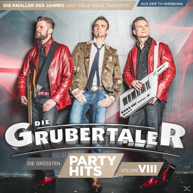 Die größten Partyhits-Vol.8 (Die Grubertaler) für 8,99 Euro
