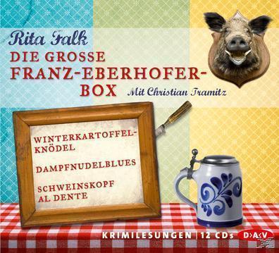 Die große Franz-Eberhofer-Box (CD(s)) für 27,49 Euro