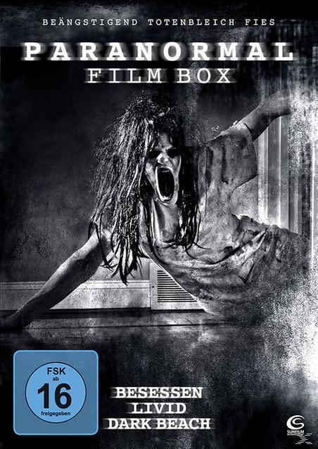 Die große Paranormal Film Box - Boxset mit 3 Horror-Hits: Besessen, Dark Beach, Livid (DVD) für 15,99 Euro