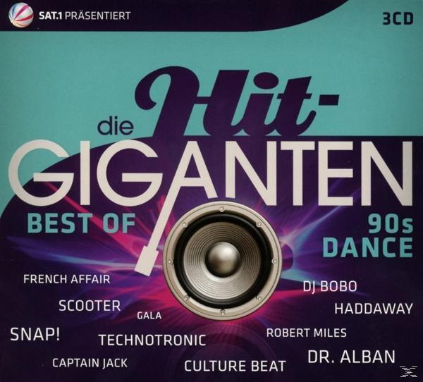 Die Hit Giganten Best Of 90's Dance (VARIOUS) für 17,99 Euro