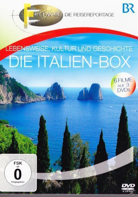 Die Italien-Box (DVD) für 16,99 Euro