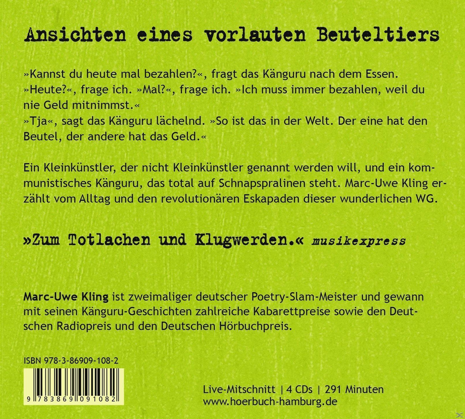 Die Känguru-Chroniken (CD(s)) für 15,99 Euro