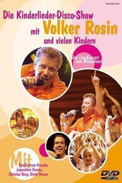 Die Kinderlieder Disco Show - Volker Rosin (DVD) für 9,99 Euro