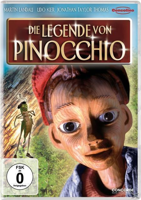 Die Legende von Pinocchio (DVD) für 7,99 Euro
