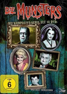 Die Munsters - Die komplette Serie (DVD) für 49,00 Euro