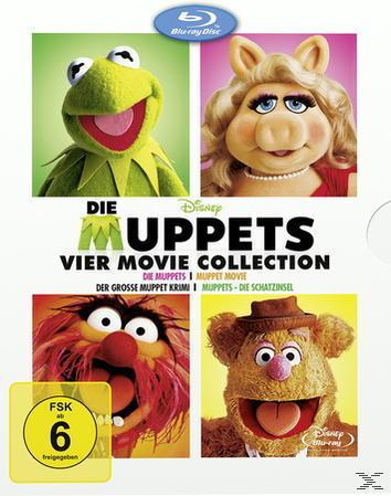 Die Muppets - 4 Movie Collection Bluray Box (BLU-RAY) für 20,47 Euro
