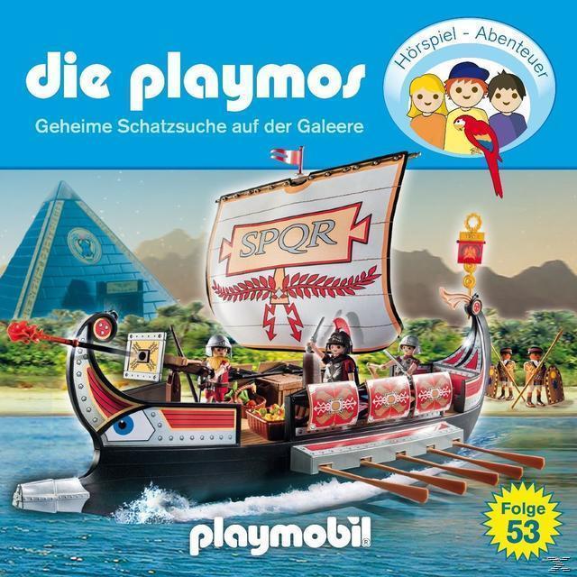 Die Playmos 53: Geheime Schatzsuche auf der Galeere (CD(s)) für 6,99 Euro