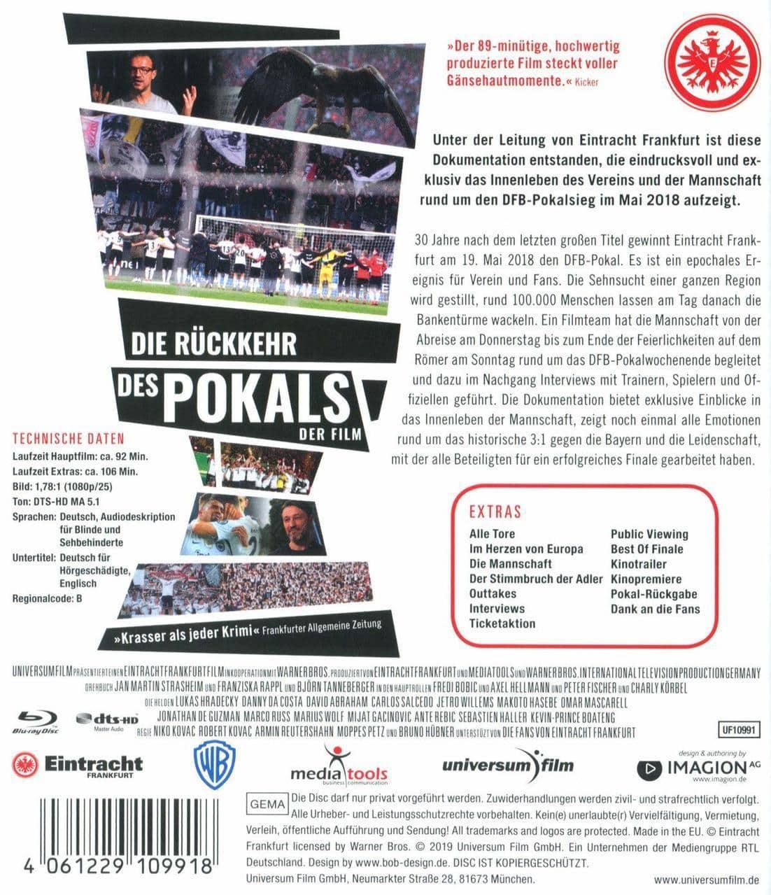 Die Rückkehr des Pokals - Der Film (BLU-RAY) für 19,99 Euro