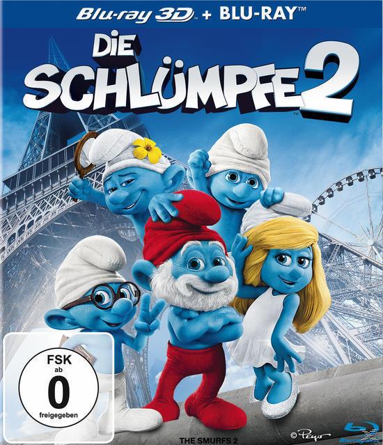 Die Schlümpfe 2 - 2 Disc Bluray (BLU-RAY 3D/2D) für 19,99 Euro