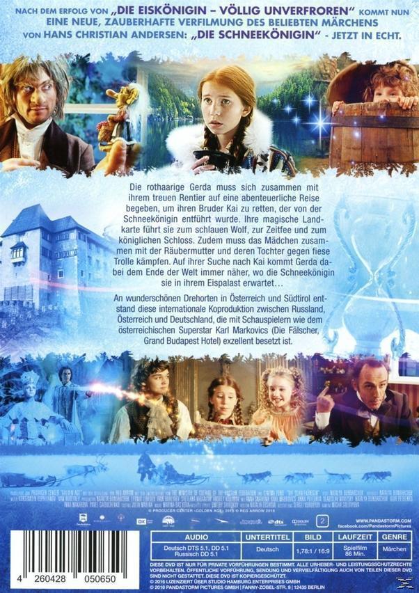 Die Schneekönigin (DVD) für 9,99 Euro
