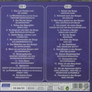 Die Schönsten Berglieder (VARIOUS) für 6,99 Euro