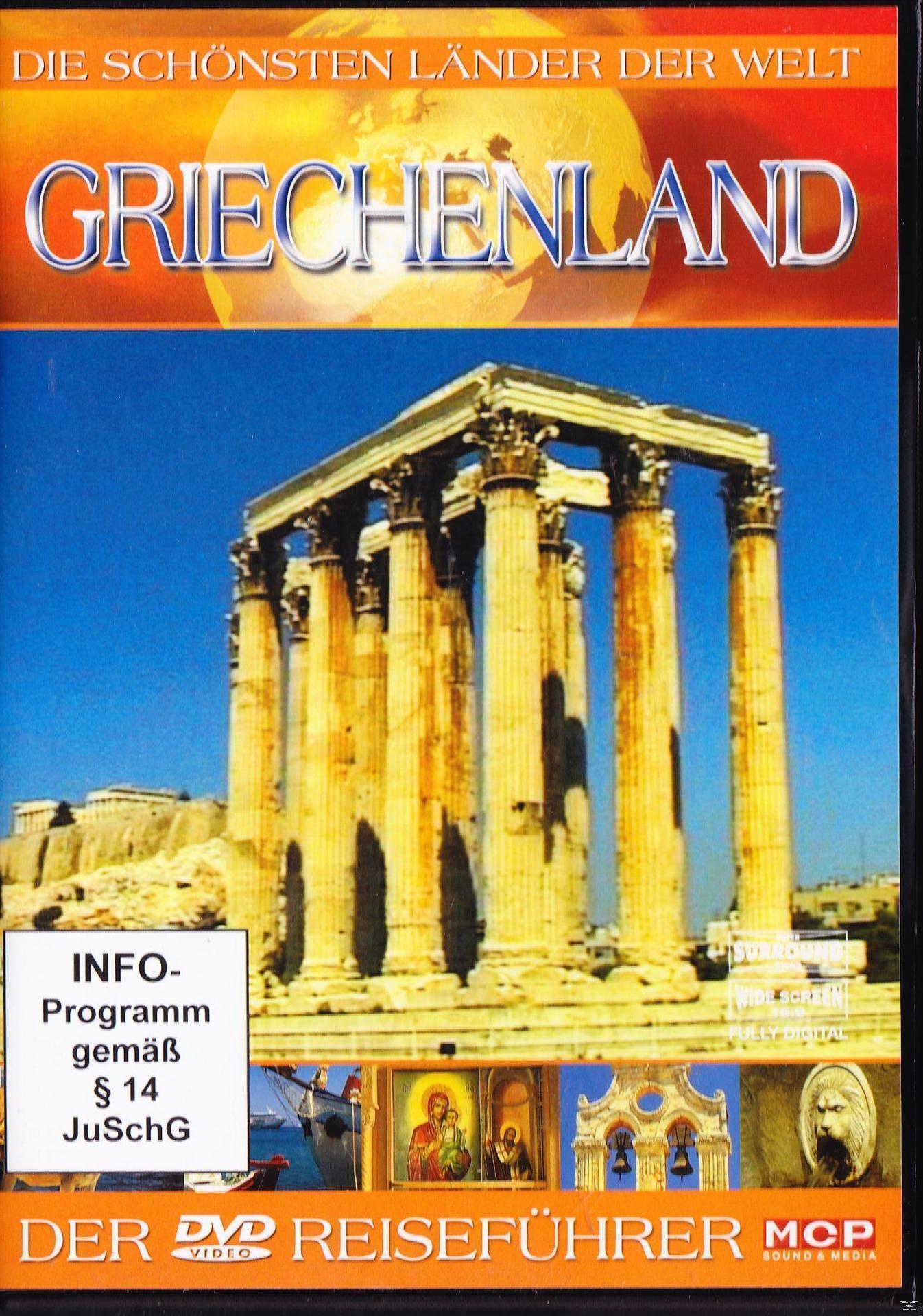 Die schönsten Länder der Welt: Griechenland (DVD) für 6,99 Euro