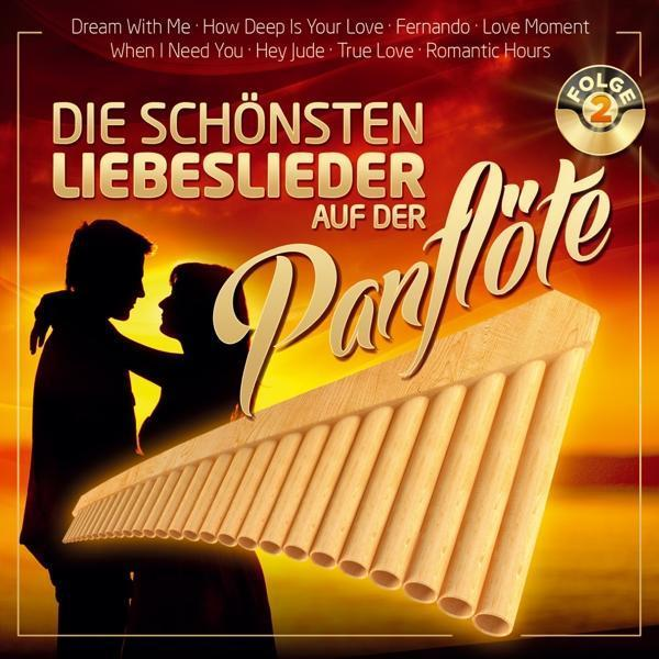 Die schönsten Liebeslieder auf der Panflöte F.2 (Ria) für 5,99 Euro