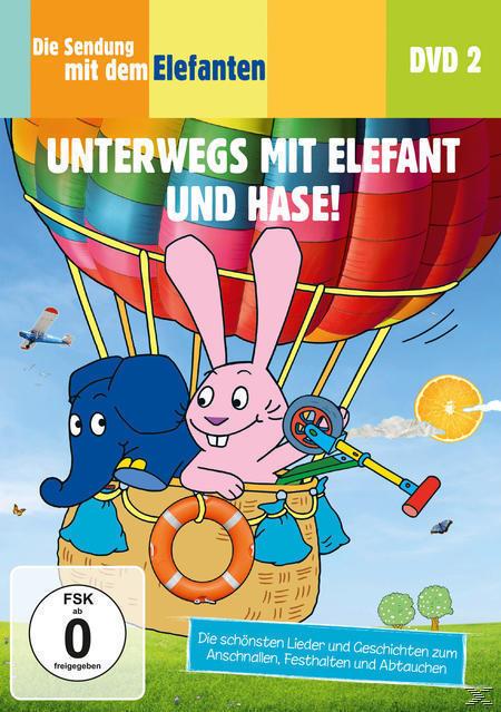 Die Sendung mit dem Elefanten - Unterwegs mit Elefant und Hase! (DVD) für 9,99 Euro