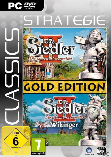 Die Siedler 2: Die nächste Generation - Gold-Edition (Strategie Classics) (PC) für 9,99 Euro