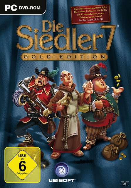 Die Siedler 7 Gold Edition (Software Pyramide) (PC) für 10,00 Euro