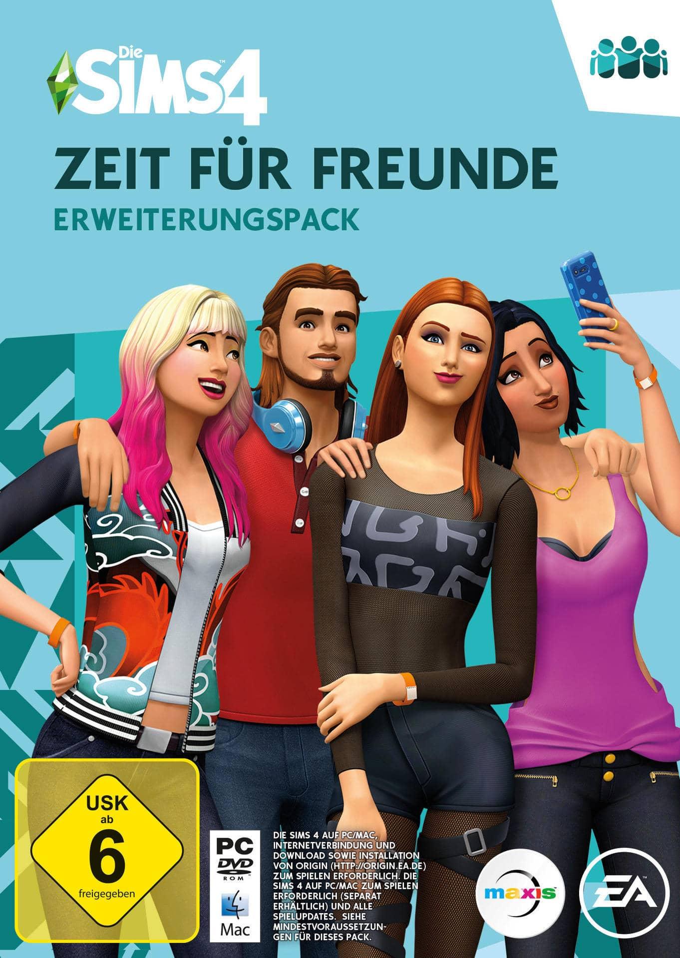 Die Sims 4: Zeit für Freunde (PC) für 19,99 Euro