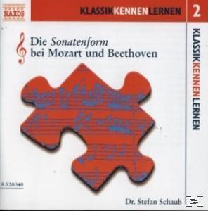 Die Sonatenform bei Mozart und Beethoven (CD(s)) für 5,99 Euro