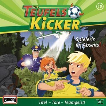 Die Teufelskicker 18: Spielerin im Abseits (CD(s)) für 6,99 Euro