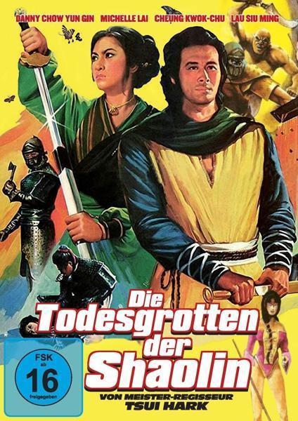 Die Todesgrotten Der Shaolin (DVD) für 9,74 Euro