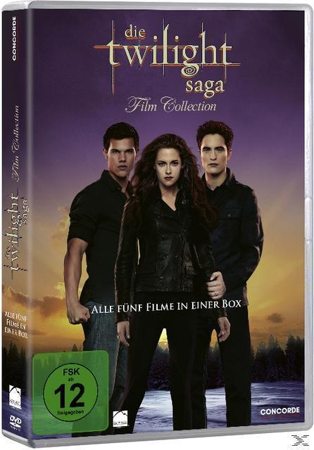 Die Twilight-Saga Film Collection DVD-Box (DVD) für 14,99 Euro