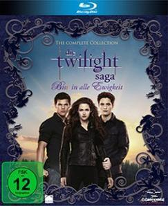 Die Twilight-Saga Film Collection BLU-RAY Box (BLU-RAY) für 12,99 Euro