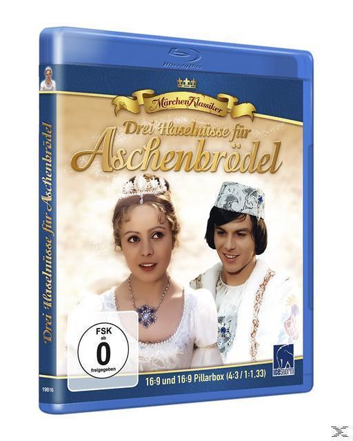 Die Welt der Märchen - Drei Haselnüsse für Aschenbrödel (BLU-RAY) für 13,99 Euro