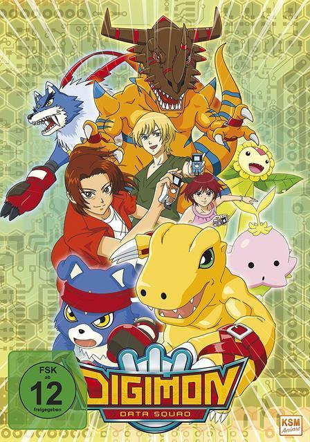 Digimon Data Squad - Vol. 1 - Episode 1-16 DVD-Box (DVD) für 59,99 Euro