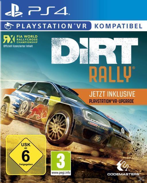 DiRT Rally plus VR Upgrade (PlayStation 4) für 29,99 Euro