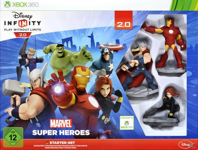 Disney Infinity 2.0: Marvel Super Heroes Starter-Set (Software Pyramide) (XBox 360) für 24,99 Euro