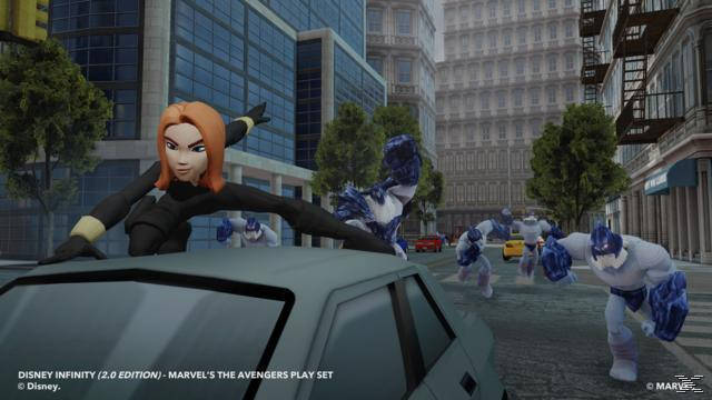 Disney Infinity 2.0: Marvel Super Heroes Starter-Set (Nintendo Wii U) für 5,00 Euro