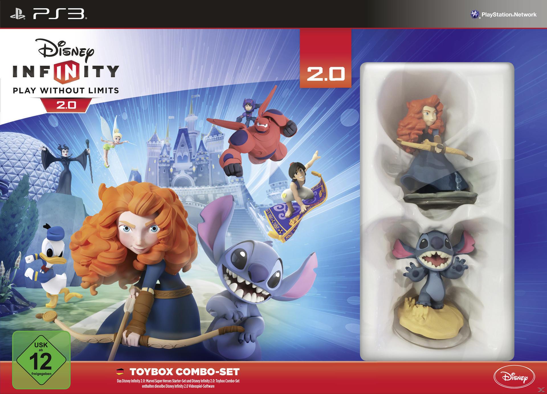 Disney Infinity 2.0: Toybox Combo-Set (Playstation3) für 5,00 Euro